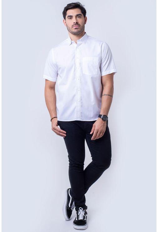 Camisa-casual-masculina-tradicional-algodao-fio-60-branco-f11272a-4