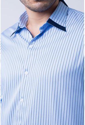 Camisa-casual-masculina-tradicional-algodao-fio-80-azul-escuro-f00541a-3