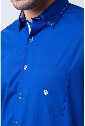 Camisa-casual-masculina-tradicional-algodao-fio-60-azul-f01305a-3