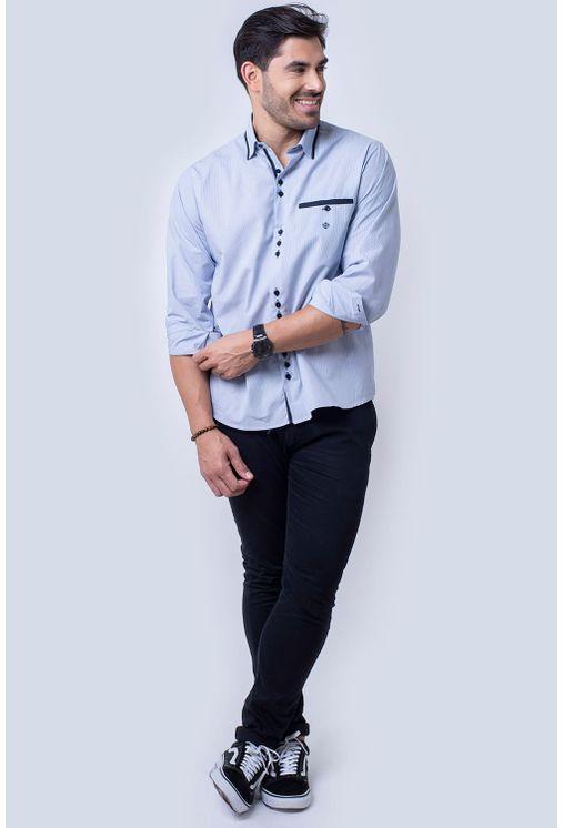 Camisa-casual-masculina-tradicional-algodao-fio-50-azul-f01159a-4