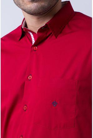 Camisa-casual-masculina-tradicional-algodao-fio-60-vermelho-f01305a-3