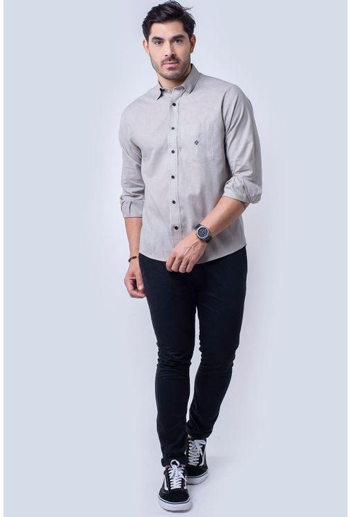 Camisa-casual-masculina-tradicional-linho-misto-bege-f01295a-4