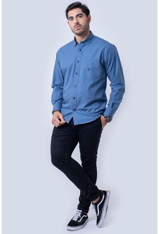 Camisa-casual-masculina-tradicional-flanela-azul-f01677a-4