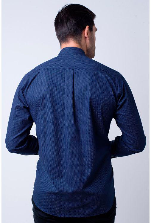Camisa-casual-masculina-tradicional-algodao-fio-40-azul-escuro-f01862a-2