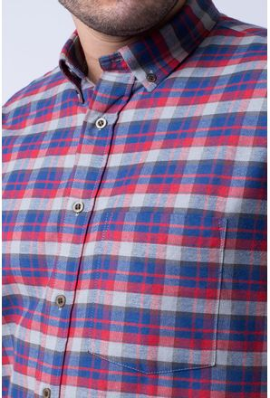 Camisa-casual-masculina-tradicional-flanela-vermelho-f05689a-3