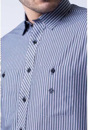 Camisa-casual-masculina-tradicional-algodao-fio-50-preto-r01411a-3