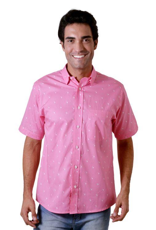 Camisa-casual-masculina-algodao-fio-60-rosa-f05990a-5