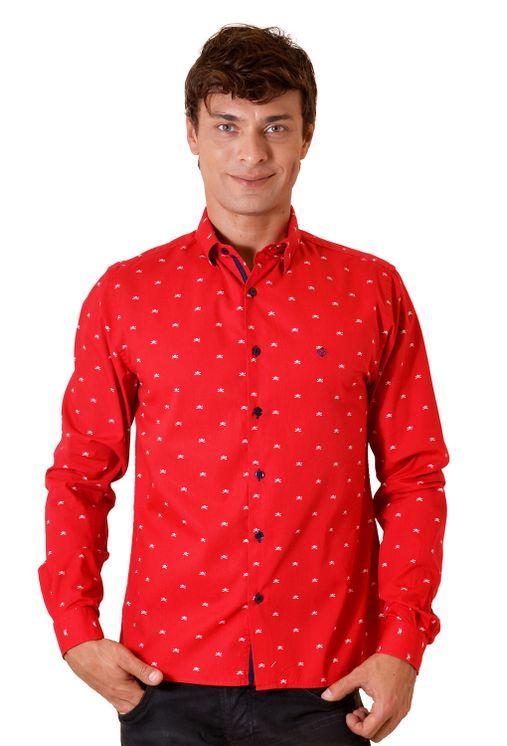 Camisa-casual-masculina-slim-algodao-fio-60-vermelho-f01528s-5