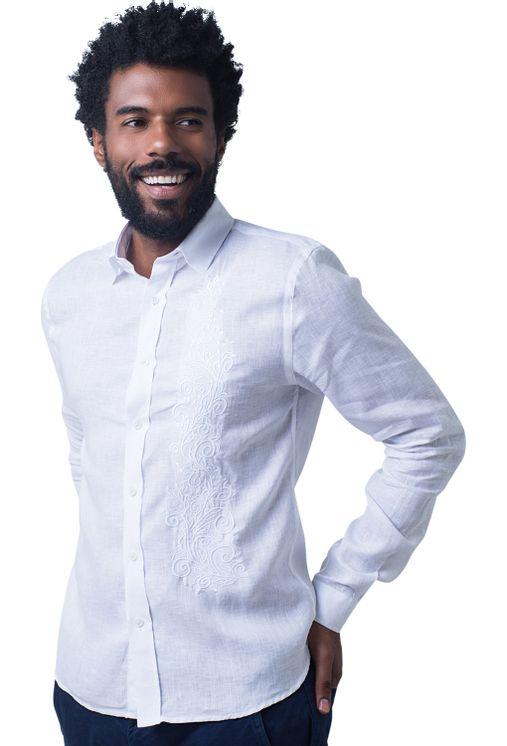 Camisa-casual-masculina-slim-cambraia-de-linho-branco-f01917s-5