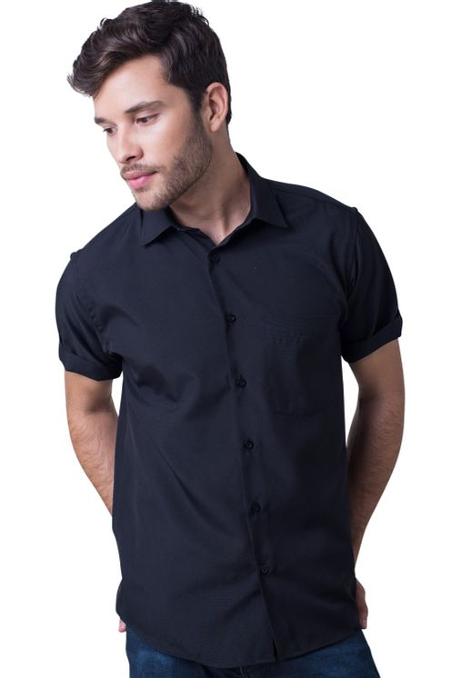 Camisa-social-masculina-tradicional-algodao-misto-preto-f09926a-5