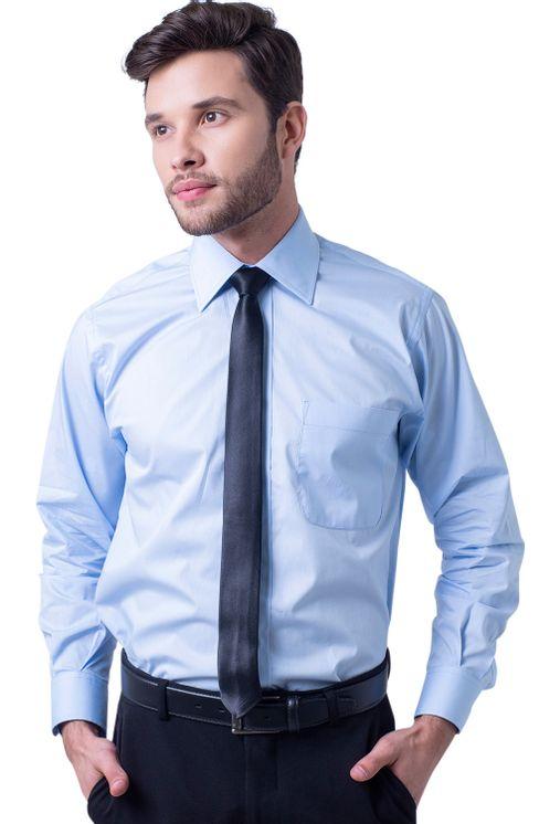 Camisa-social-masculina-tradicional-algodao-misto-azul-claro-f05130a-1