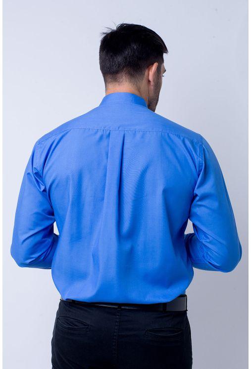 Camisa-social-masculina-tradicional-algodao-misto-azul-f09993a-2