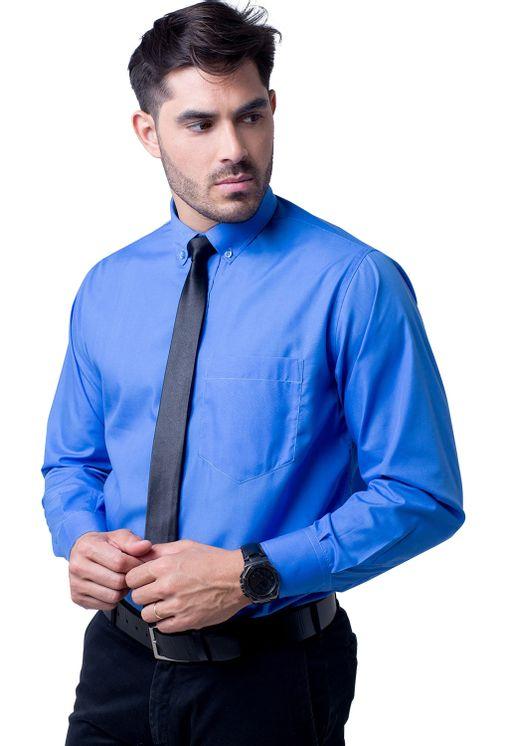 Camisa-social-masculina-tradicional-algodao-misto-azul-f09993a-5