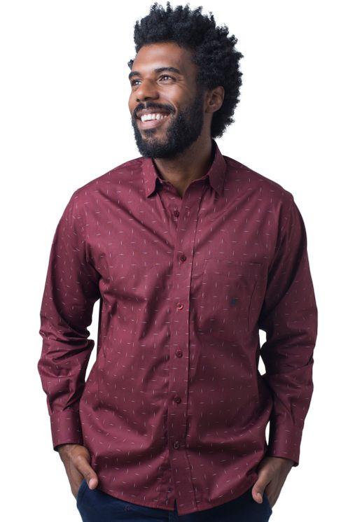Camisa-casual-masculina-tradicional-algodao-fio-40-bordo-f01863a-5