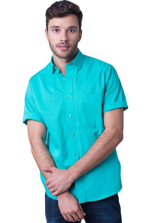 Camisa-casual-masculina-tradicional-algodao-fio-40-verde-r09903a-5