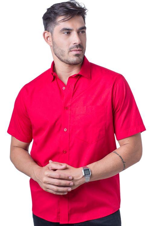 Camisa-social-masculina-tradicional-algodao-fio-40-vermelho-f09903a-5