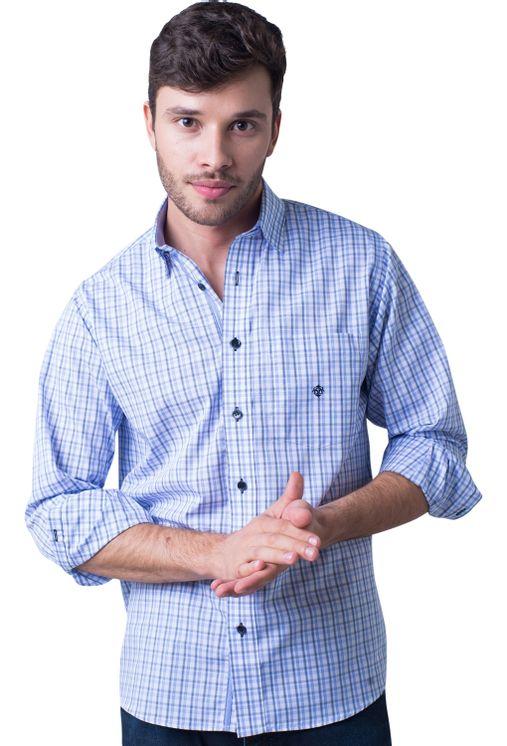 Camisa-casual-masculina-tradicional-algodao-fio-50-azul-claro-f01410a-5