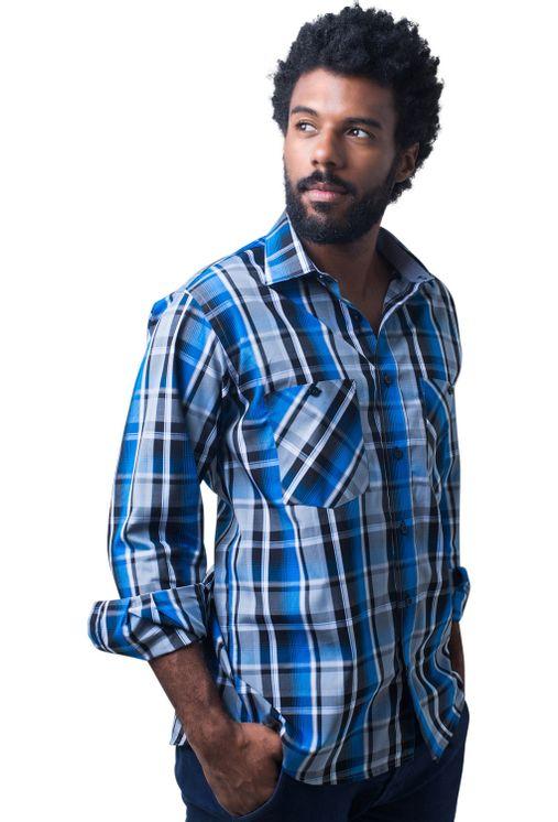 Camisa-casual-masculina-tradicional-algodao-fio-50-azul-e01855a-5
