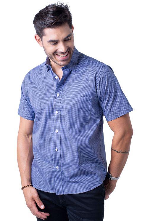 Camisa-casual-masculina-tradicional-algodao-fio-50-azul-escuro-f04387a-5