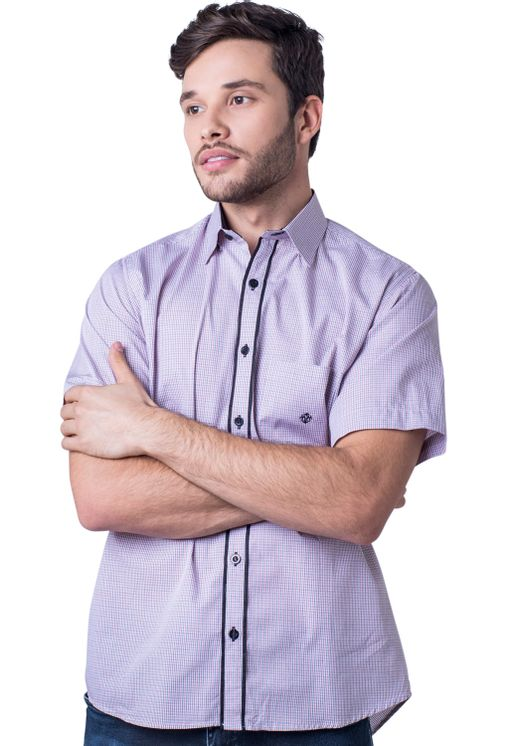 Camisa-casual-masculina-tradicional-algodao-fio-50-vermelho-f01385a-5