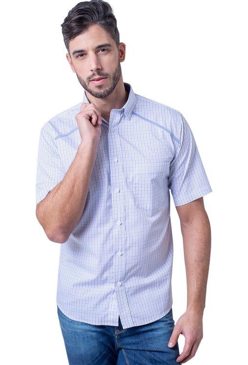 Camisa-casual-masculina-tradicional-algodao-fio-60-azul-claro-f01449a-1