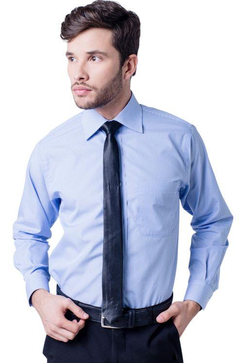 Camisa-casual-masculina-tradicional-algodao-fio-60-azul-claro-f03823a-5