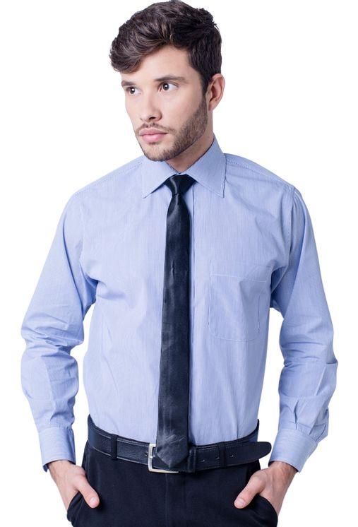Camisa-casual-masculina-tradicional-algodao-fio-60-azul-escuro-f03823a-5