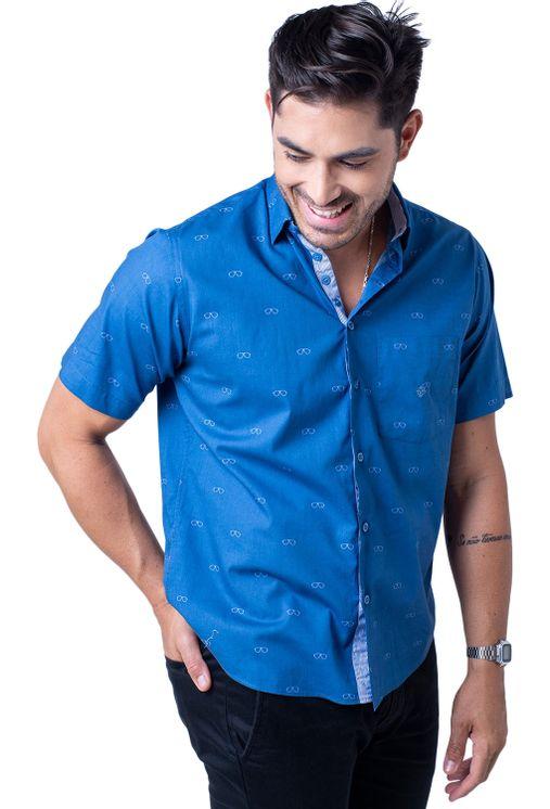 Camisa-casual-masculina-tradicional-algodao-fio-60-azul-f01345a-5