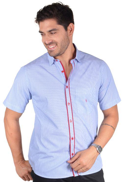 Camisa-casual-masculina-tradicional-algodao-fio-60-azul-medio-f01277a-5