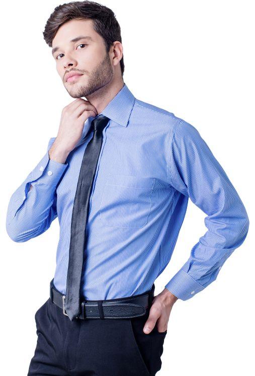 Camisa-casual-masculina-tradicional-algodao-fio-60-azul-medio-f03823a-5