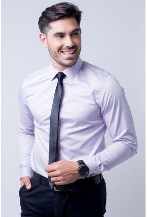 Camisa-social-masculina-slim-algodao-fio-80-lilas-f05426s-1