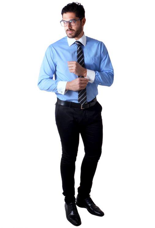 Camisa-social-masculina-tradicional-abotoadura-azul-medio-f01593a-1