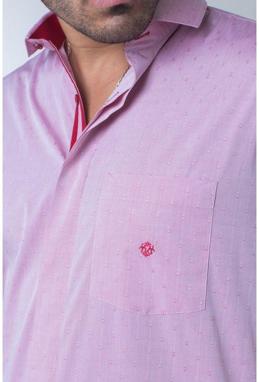 Camisa-casual-masculina-tradicional-algodao-fio-60-vermelho-f01039a-1