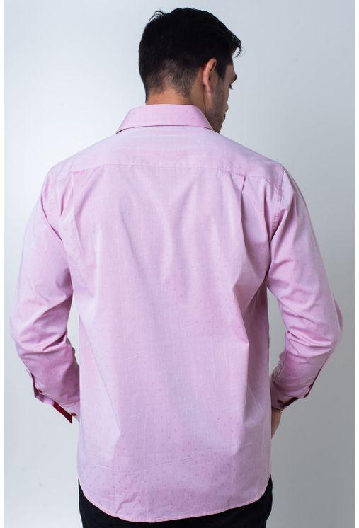 Camisa-casual-masculina-tradicional-algodao-fio-60-vermelho-f01039a-2