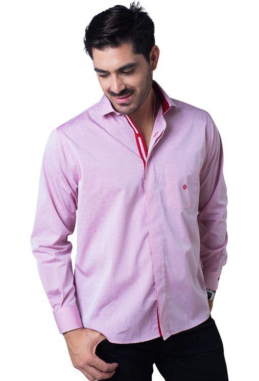 Camisa-casual-masculina-tradicional-algodao-fio-60-vermelho-f01039a-5