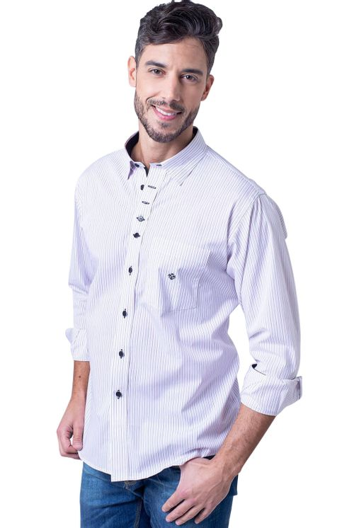 Camisa-casual-masculina-tradicional-algodao-fio-60-vermelho-f01260a-1