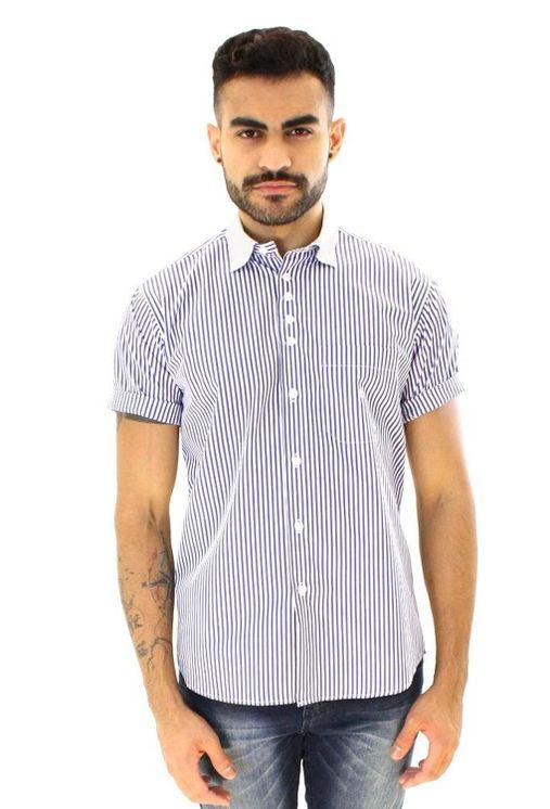 Camisa-casual-masculina-tradicional-algodao-fio-80-azul-f01270a-5