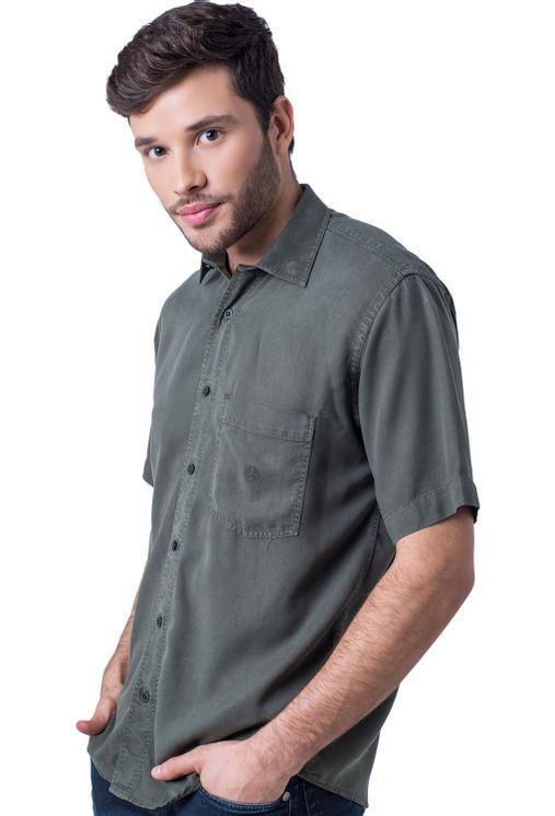 Camisa-casual-masculina-tradicional-tencel-verde-escuro-f06020a-5