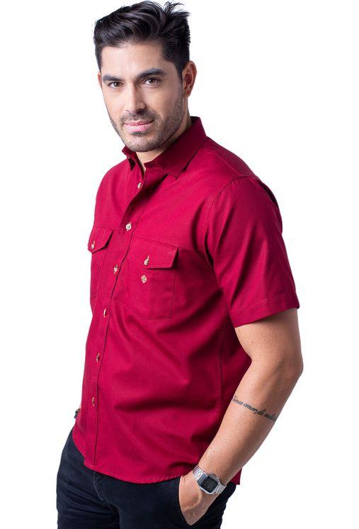 Camisa-casual-masculina-tradicional-sarjada-bordo-f01681a-5