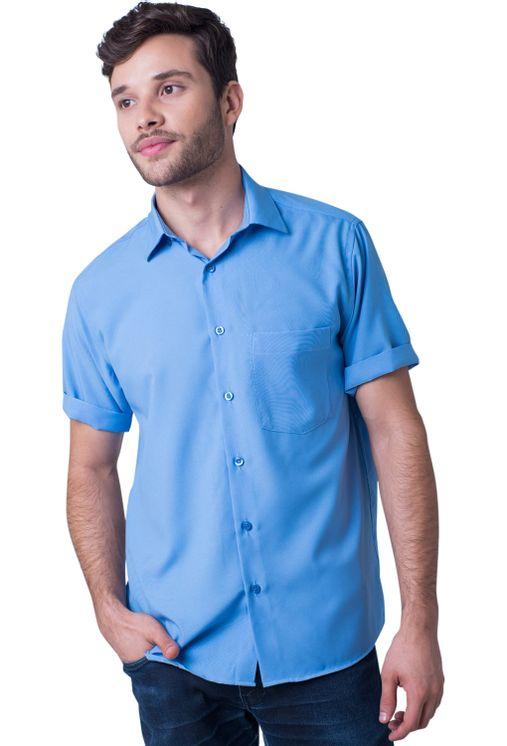 Camisa-casual-masculina-tradicional-microfibra-azul-medio-f06208a-5