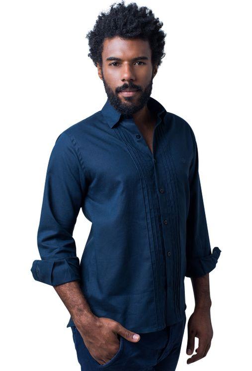 Camisa-casual-masculina-tradicional-linho-misto-azul-escuro-f01293a-5