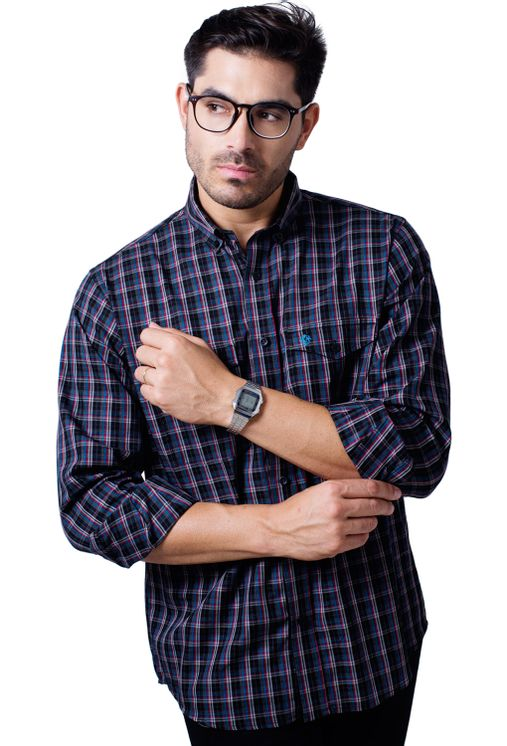 Camisa-casual-masculina-tradicional-flanela-grafite-f01836a-5