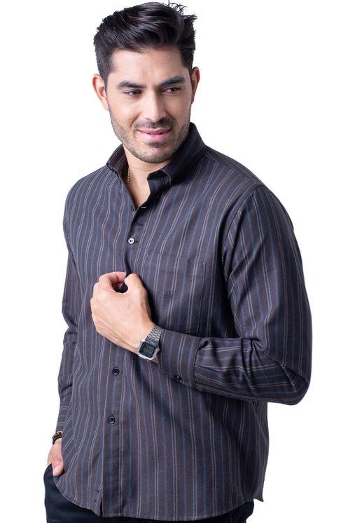 Camisa-casual-masculina-tradicional-flanela-marrom-f01100a-5