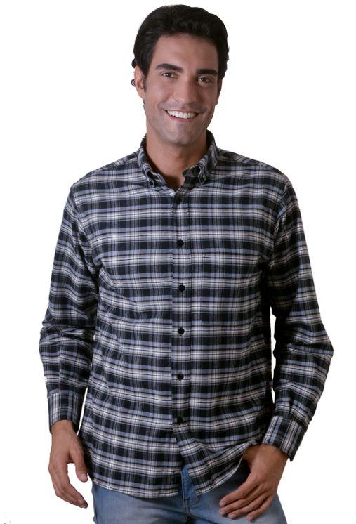 Camisa-casual-masculina-tradicional-flanela-preto-f05689a-1