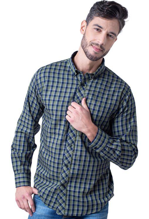 Camisa-casual-masculina-tradicional-flanela-verde-f01840a-1