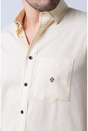 Camisa-casual-masculina-tradicional-linho-misto-amarelo-f01295a-3