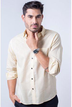 Camisa-casual-masculina-tradicional-linho-misto-amarelo-f01295a-1