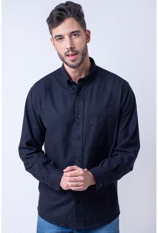 Camisa-casual-masculina-tradicional-flanela-preto-f01827a-1
