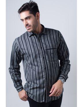 9a8f9ed592 Camisaria Fascynios Oficial · Camisa Casual Masculina · Flanela. Camisa  casual masculina tradicional flanela preto f01206a 01 ...