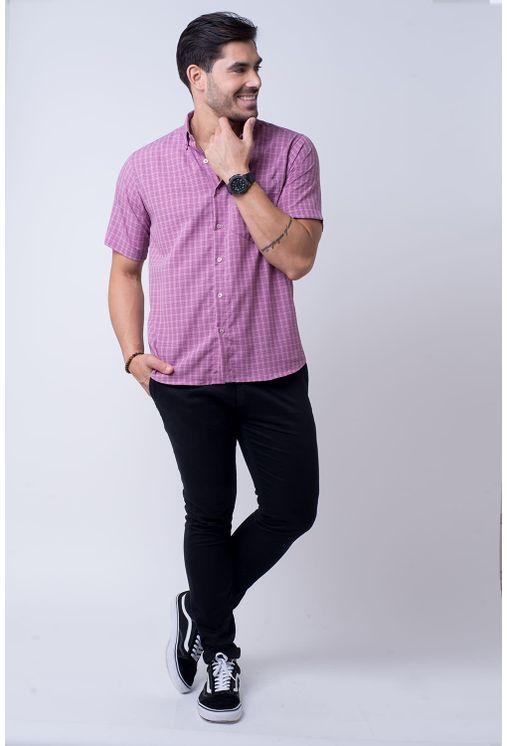 Camisa-casual-masculina-tradicional-microfibra-rosa-f07525a-1